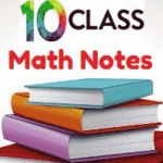 10th Class General Math Solved Notes Unit 10