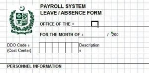 Leave Absence Form