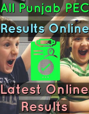 PEC Exam 5th Class 8th Class Latest Results