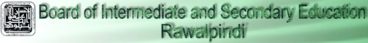 BISE Rawalpindi 10th Class Latest Results