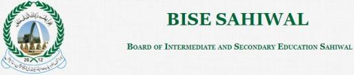 Download BISE Sahiwal Results Gazettes 2018