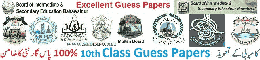 10th guess papers