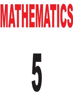 Download 5th Class Math Book English Version