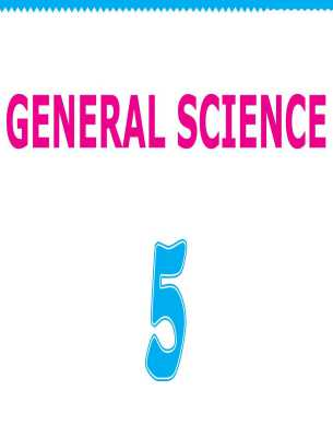 5th Class General Science Book English Version
