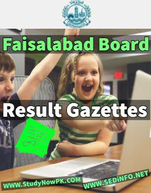 Download Faisalabad Gazettes All Results 2019