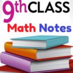 9th Class General Math Notes