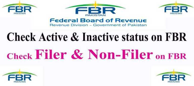 How to Check Filing Status Filer & Non-Filer Active Or Inactive