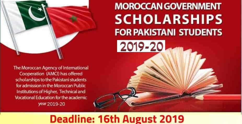 Morocco Scholarship Program for Pakistani Students 2019-20