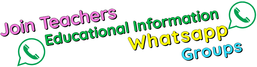 Join Teachers Educational Information Whatsapp Groups