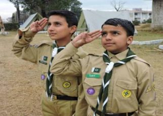 Shaheen Scout Guide & Solved Past Test Papers fi