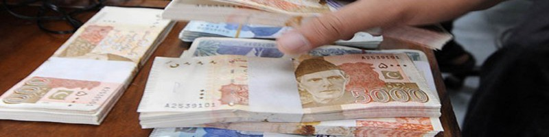 Pakistani-currency-notes-pay-role