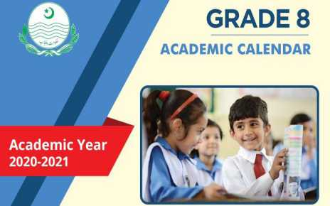 Download Grade 8 Academic Calendars 2020