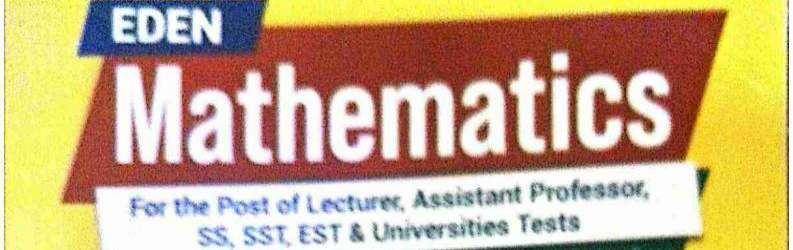 Eden Math for Lecturers & Assistant Professors