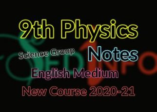9th Physics Notes