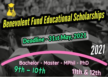 Benevolent Fund Educational Scholarships f